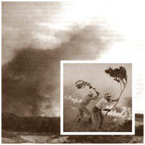 Grande incêndio na Serra de Sintra a 7 de Setembro de 1966