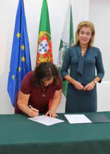 """""""Neste momento 20% da população do nosso concelho tem mais de 65 anos"""", sublinha Carla Tavares"""