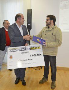 O 1.º prémio, no valor pecuniário de 5 mil euros, foi atribuído a Filipe Miguel Marques Raposo Cardoso