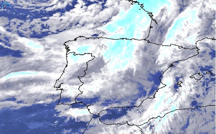 Superfície frontal fria associada à tempestade Bruno