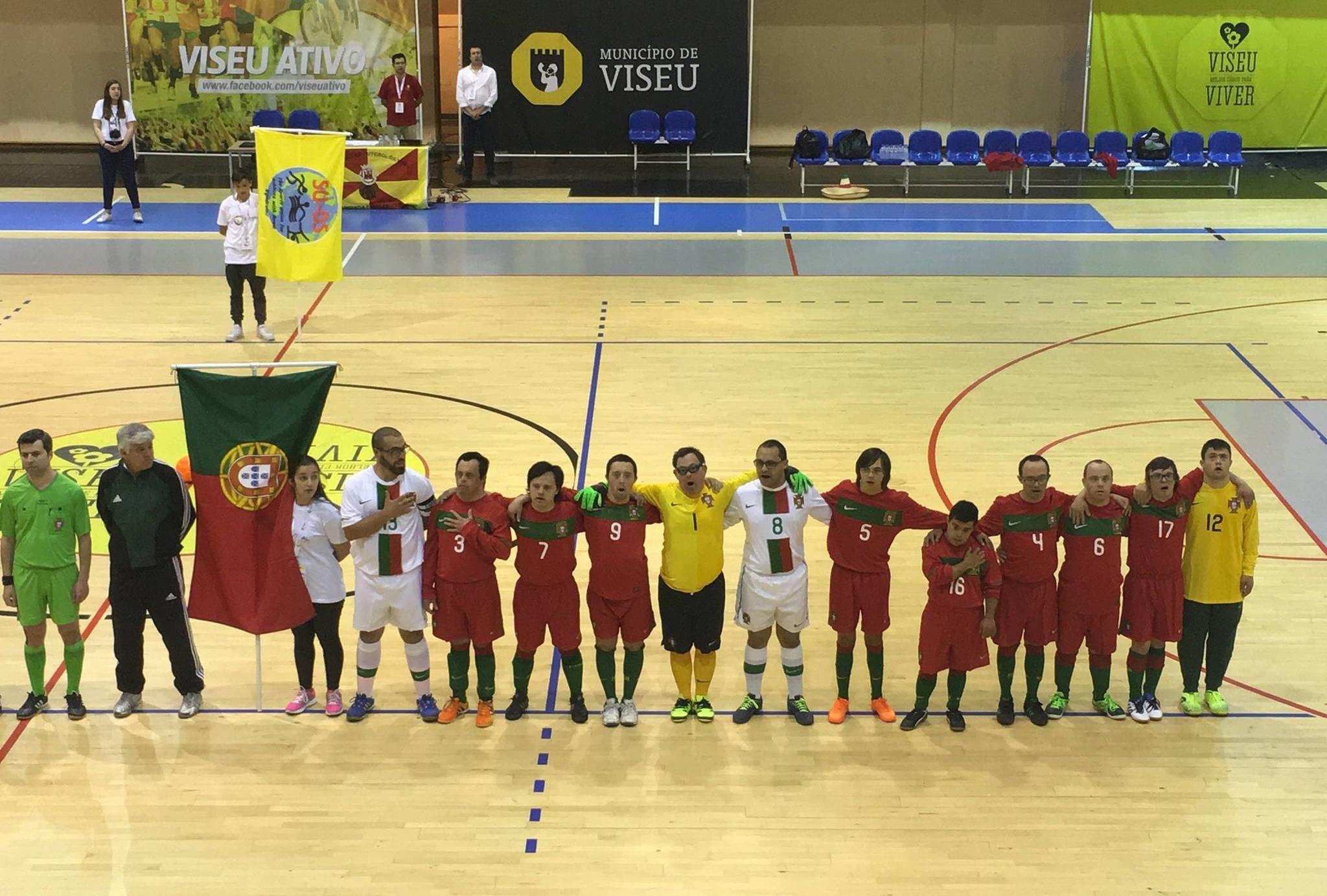 Portugal é campeão europeu de futsal para atletas com síndrome de ... 277fae41e4c3d