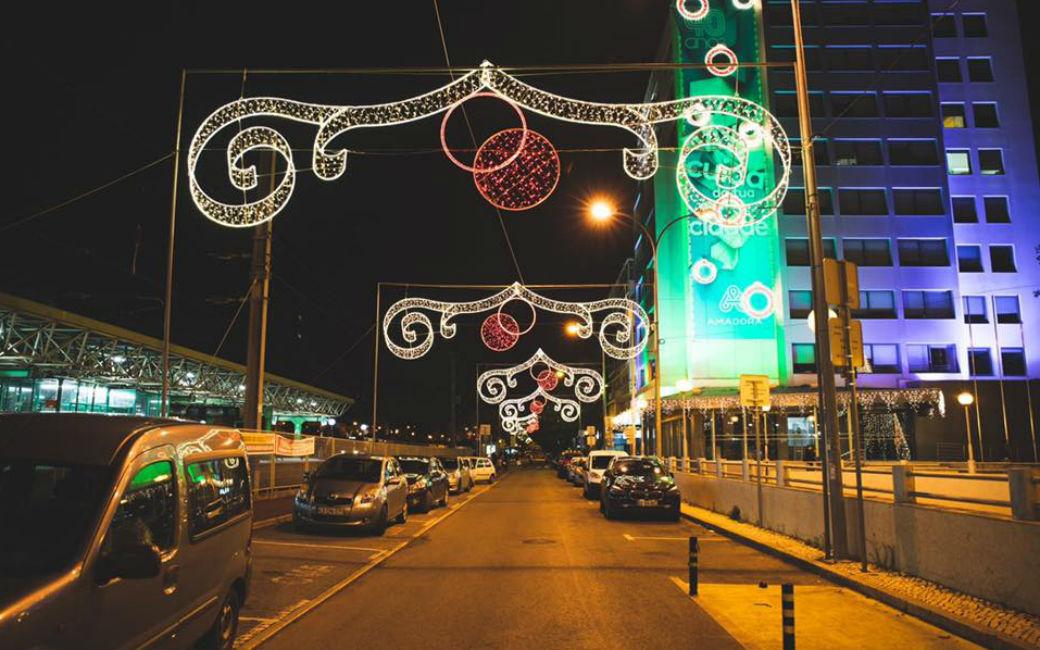 Iluminações de Natal chegaram à Amadora - Sintra Notícias